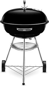 Weber Compact 57cm Charcoal BBQ, Black. NEW, BOXED & UNOPENED fast dispatch