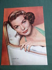 JOANNE DRU - FILM STAR - 1 PAGE  PICTURE- CLIPPING/CUTTING