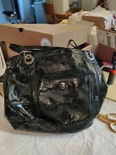 Coach handbags used large pre-owned black