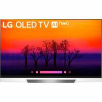 """LG OLED55E8PUA 55"""" Class E8 OLED 4K HDR AI Smart TV (2018 Model)"""
