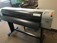 One Genuine Mutoh Valuejet VJ-1204GA Wide Format Printer, No Printheads, AS IS