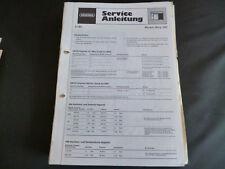 Original Service Manual Grundig  Music Boy 100