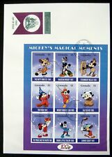 NEW! 2002 GRENADA MICKEY'S MAGICAL MOMENTS FIRST DAY ISSUE DISNEY FDC MICKEY 6X9