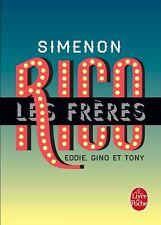 Les Frères Rico .Georges SIMENON.Le Livre de Poche  Z39