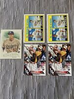 Corey Seager 2016 Rookie Lot Topps Heritage Topps 5 Cards Dodgers MVP