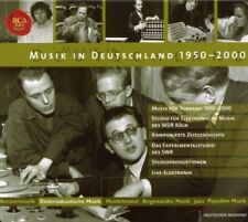 Musik in Deutschland 1950 - 2000 Complete 18 Box 122 CD Collection RARE!! Sealed