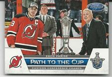 ZACH PARISE 2012-13 Certified Path to the Cup Conference Trophy #/99 Devils