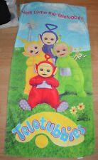 Teletubbies Beach Bath Towel vintage  1998 Jay Franco
