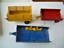 CORGI TRAILER BEAST CARRIER AND FURTHER TRAILER BUNDLE LOT (3)