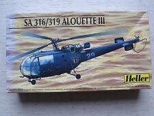 Heller 80225 SA 316/319 Alouette III 1:72 neu & versiegelt  Kombiversand möglich