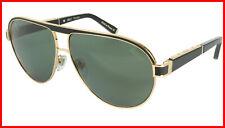 ZILLI Sunglasses Titanium Acetate Leather Polarized France Handmade ZI 65031 C01