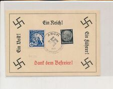 LM08459 Germany 1938 Reich postcard with nice cancels used