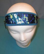 TEK GEAR~Aqua Geo Print 2-Strap Back Headband~One Size~WTG53AC00