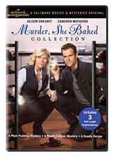 MURDER SHE BAKED COLLECTION DVD - 3 FULL-LENGTH MOVIES - NEW UNOPENED - HALLMARK