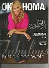 OKLAHOMA MAGAZINE - Kristin Chenoweth - Fabulous Actress - September, 2010