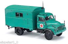 Busch 50810, Hanomag AL 28 MKW Chariot d'hôpital, H0 Auto Modèle 1:87