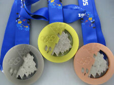 Russia Sochi 2014 Olympic Gold/Silver/Bronze Medal Set 1:1 Each Weight 430g