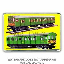 HORNBY DUBLO -SUBURBAN SOUTHERN ELECTRIC ADVERT JUMBO FRIDGE /LOCKER MAGNET
