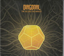Diagonal : Second Mechanism Digipak CD Prog Rock FASTPOST