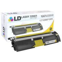 LD Remanufactured Konica-Minolta 1710587-005 Yellow Laser Toner Cartridge