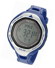 Seiko Men's SBEB011 Prospex Digital Display Japanese Quartz Blue Watch