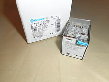Finder Relay 60.13.9.024.0040 3PDT relay, 10A, 24VDC (NIB)