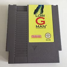 Low G Man   action/Shooter   Nintendo NES JEU-Module   Excellent état