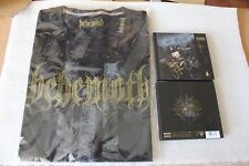 BEHEMOTH - I Loved You At Your Darkest CD DIGIBOOK SIGNED + T-SHIRT RARE