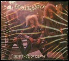 Destruction Sentence Of Death CD new 2018 Reissue High roller slipcase