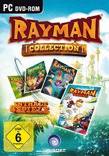 Rayman Collection für PC | Rayman 1 + 2 + 3 + Origins | NEUWARE | DEUTSCH!