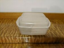 Vintage 2 Pc Anchor Hocking Microwave Cookware with Lid 1.5 Qt