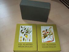 2 tomes LES PLANTES MEDICINALES