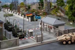 Faller 144102 HO Gauge Military Base Vehicle Entry Point Kit IV