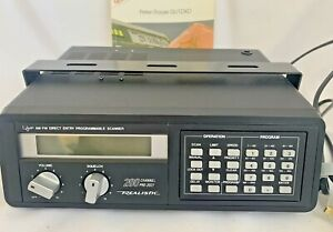 Realistic PRO-2021 Direct Entry Programmable Scanner - Model # 20-9113      W10