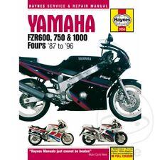 Yamaha FZR 1000 Genesis 1987-1988 Haynes Service Repair Manual 2056
