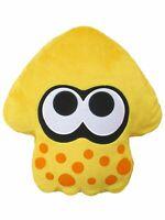 "Little Buddy Splatoon 2 Sun Yellow Squid Cushion Pillow 14"" Stuffed Plush USA"
