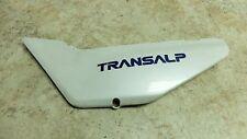 89 Honda XL 600 V XL600 Transalp left side cover panel