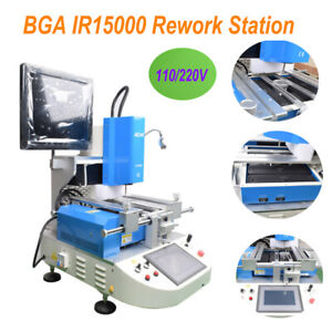 ACHI Automatica Optical Alignment BGA IR15000 Rework Station Hot Air Heating