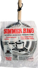 SIMMER RING SAUCEPAN MAT HOB TAGINE HEAT DIFFUSER GAS ELECTRIC COOKERS STOVE