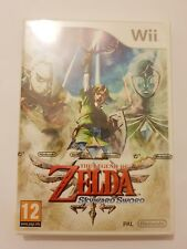 The Legend of Zelda Skyward espada Nintendo Wii Portugués idioma
