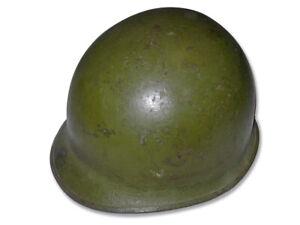 US WW2 M1 steel helmet McCord and Westinghouse liner. NAMED