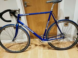 Bianchi road bike 90's Steel