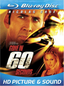 CAGE,NICOLAS-Gone In 60 Seconds (US IMPORT) Blu-Ray NEW