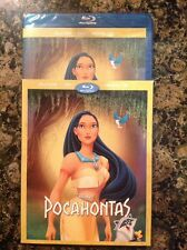 Pocahontas (Bluray/DVD, 2016)NEW Authentic Disney Exclusive