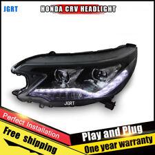 For Honda CRV Headlights assembly Bi-Xenon Lens Double Beam HID KIT 2012-2014