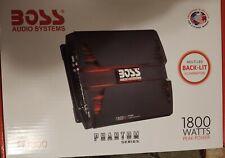 New listing Boss Audio Pf1800 4 Channel Car Amplifier - 1800W, Class A/B, Mosfet, Bridgeable