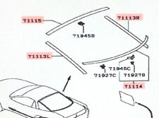 Genuine Mitsubishi  Upper Tailgate Hatch Glass Reveal Molding 3000GT