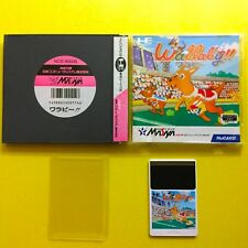 NEC PC-Engine Hu-Card Import Japan WALLABY! Boxed