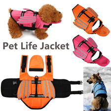 Dog Vest Summer Pet Life Jacket Buoyancy Aid  Pet Flotation Life Vest AU