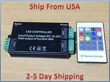12V-24V DC 20Key 48A 576W  RF Remote Controller For RGB LED Strip 5050 3528 SMD